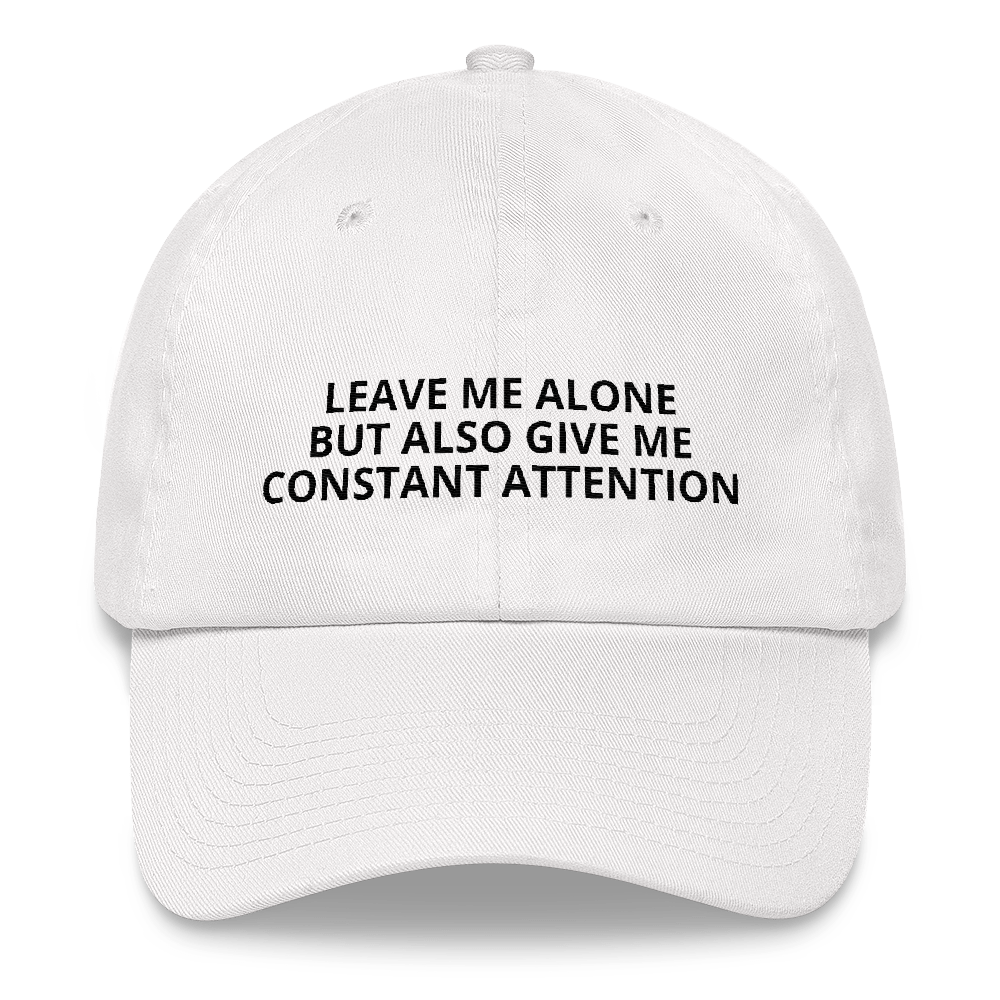 Leave Me Alone - Dad hat