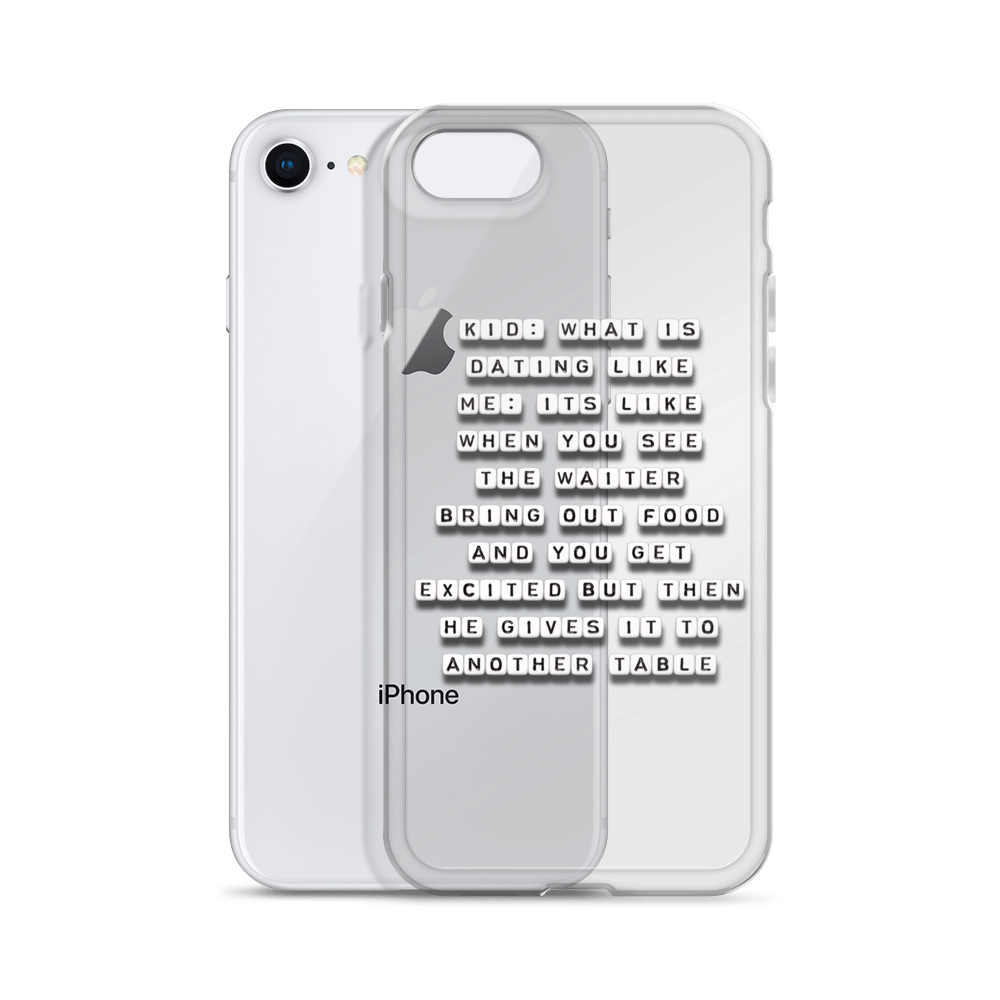 What is Dating Like - iPhone Case
