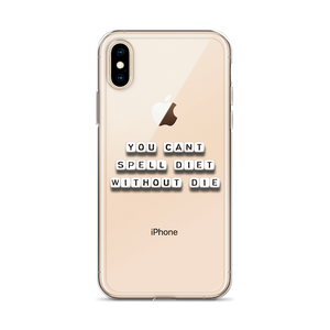 Spell Diet - iPhone Case