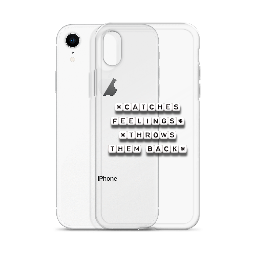 Catches Feelings - iPhone Case