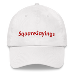 SquareSayings - Dad hat