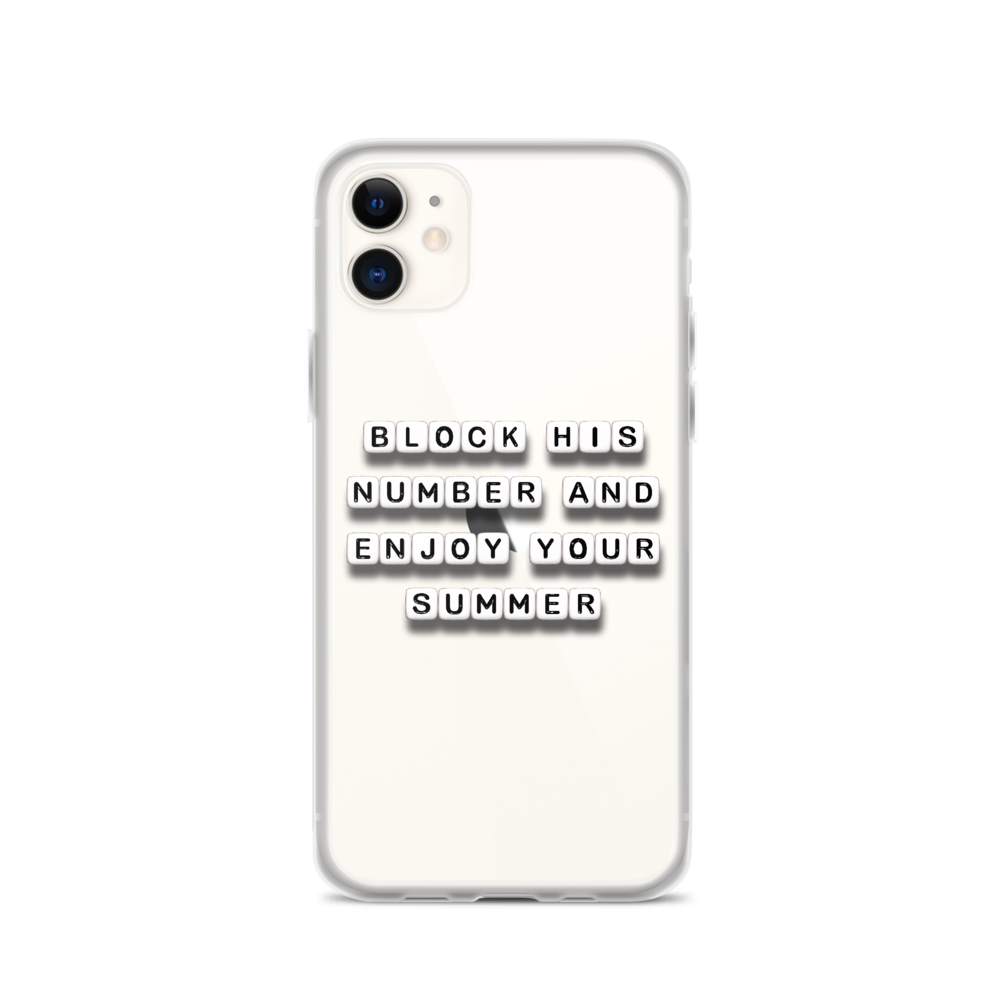 Enjoy Your Summer - iPhone Case