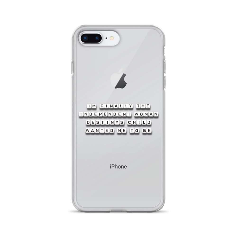 Independent Woman - iPhone Case