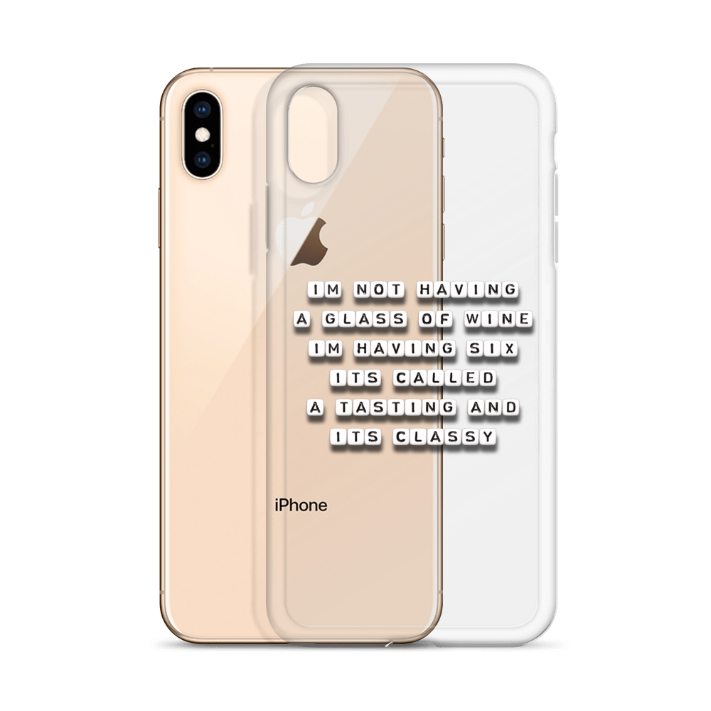 It's Called a Tasting - iPhone Case