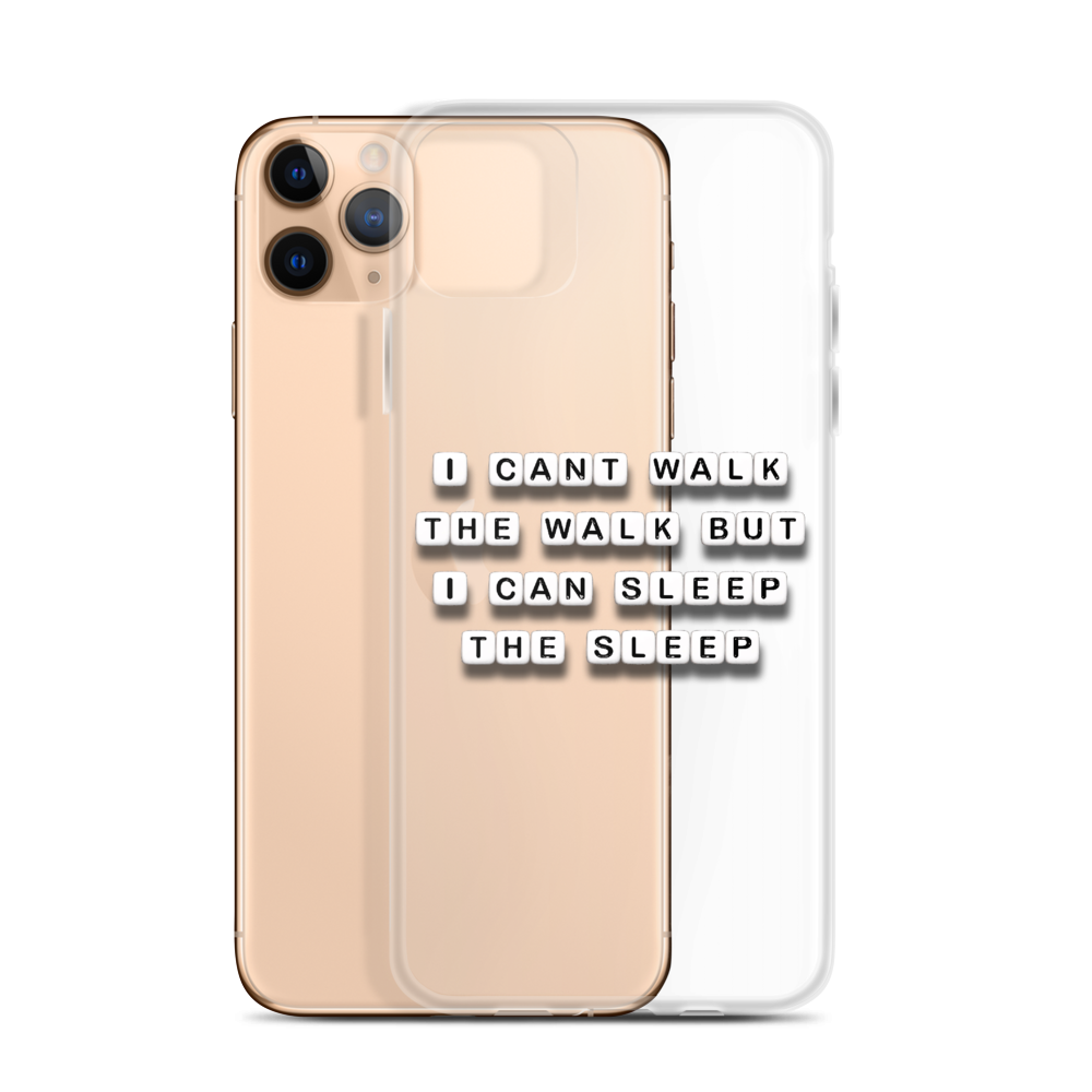 I Can Sleep the Sleep - iPhone Case