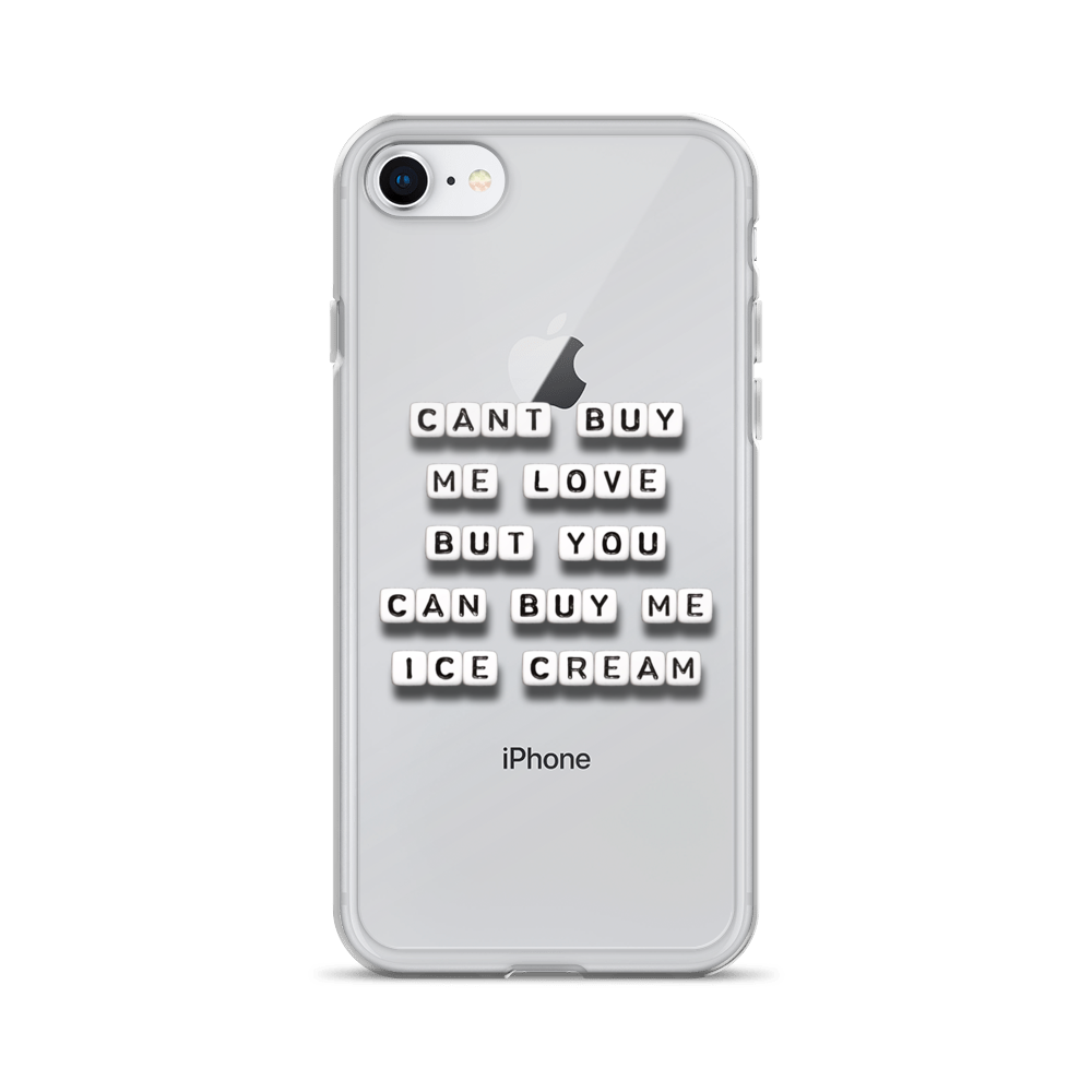 Can't Buy Me Love - iPhone Case