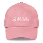 My Dog Said No - Dad hat