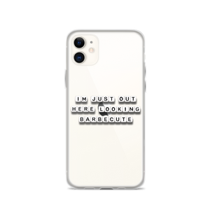 Looking Barbecute - iPhone Case