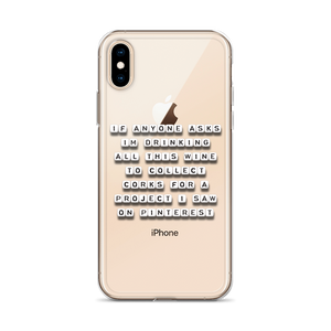 Collecting Corks - iPhone Case