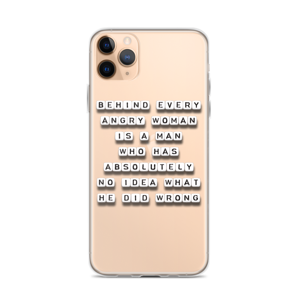 Behind Every Woman - iPhone Case