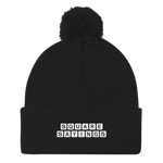 Square Sayings Logo - Pom Pom Beanie