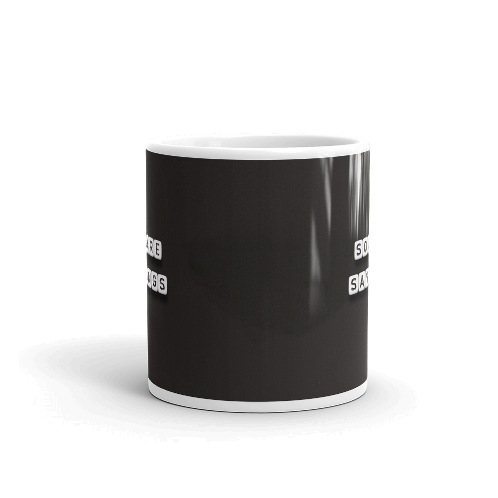 Square Sayings Logo - Mug