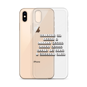 Whisper Me Those 3 Words - iPhone Case