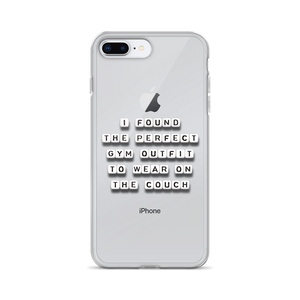 Perfect Gym Outfit - iPhone Case