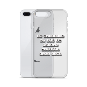 Quitting My Job - iPhone Case