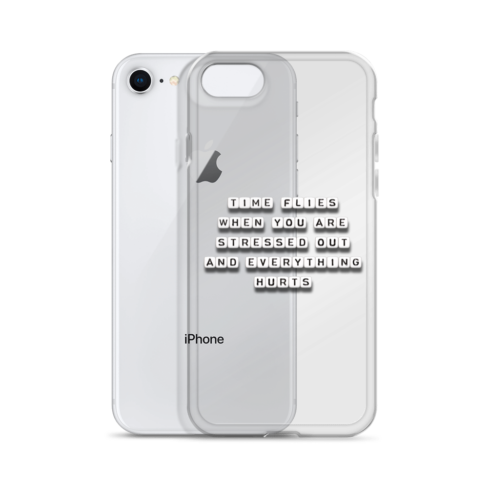 Time Flies - iPhone Case