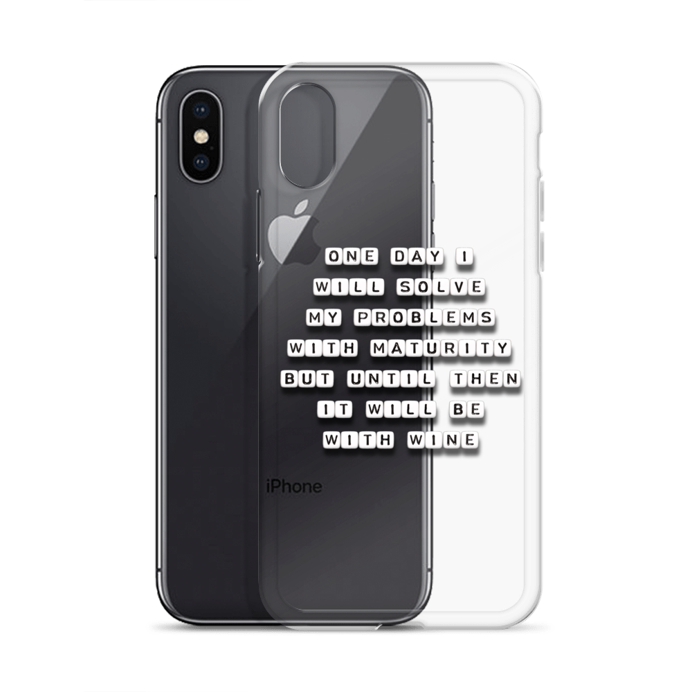 One Day I Will Solve My Problems - iPhone Case
