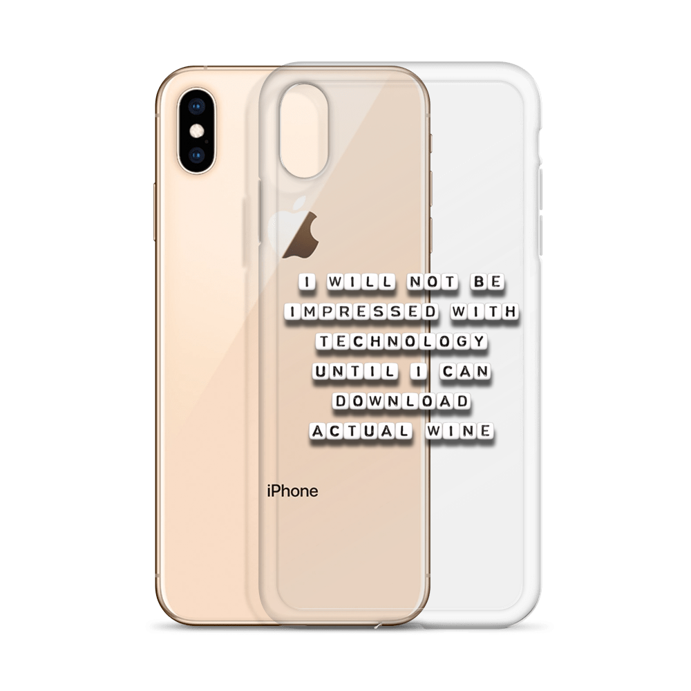 Download Wine - iPhone Case