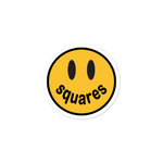 Squares Smiley - Sticker