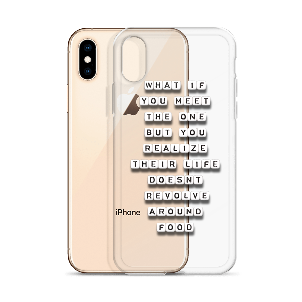 What if You Meet the One - iPhone Case