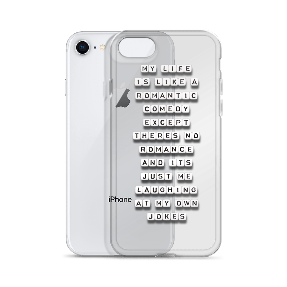 My Life is Like a Romantic Comedy - iPhone Case