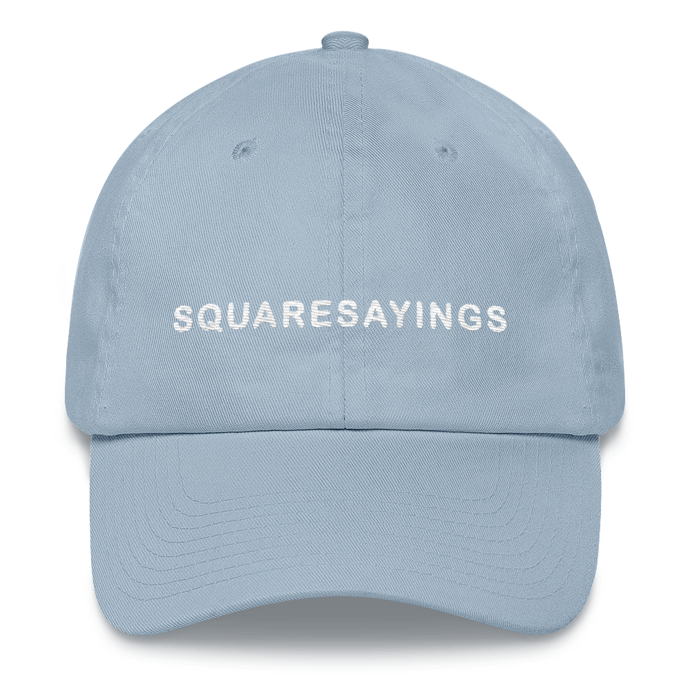 Square Sayings - Dad hat