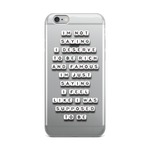 Rich and Famous - iPhone Case