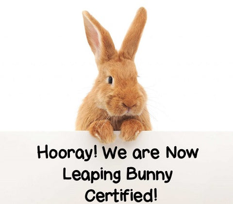 Leaping Bunny Logo certified