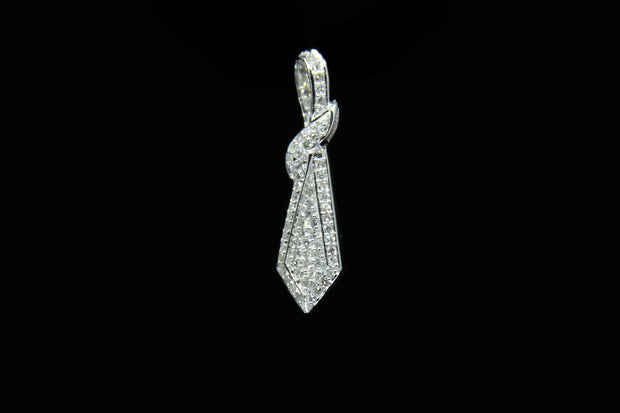 14K W/G Women's Pendant 0.45ct
