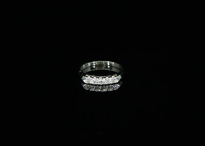 14K W/G Women's Diamond Ring 0.25ct