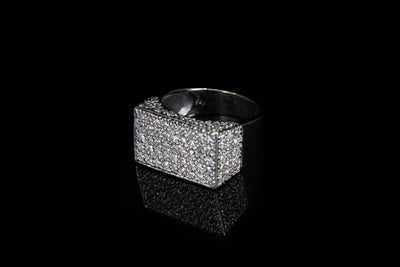 18K W/G Diamond Ring 1.95ct