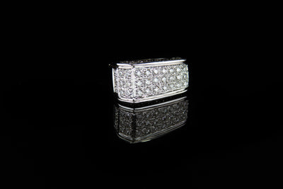 18K W/G Women's Diamond Ring 1.75ct