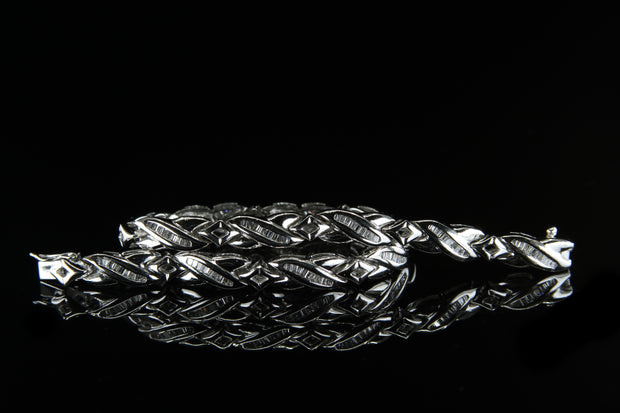 Platinum Diamond Bracelet 1.65ct