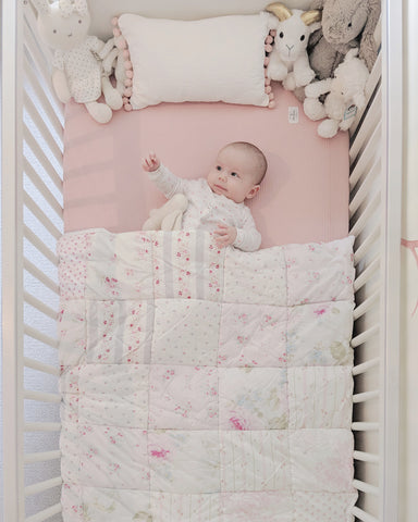 Baby crib bedding organic baby blanket nursery bedding