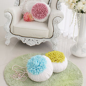Handmade Flower Cushion