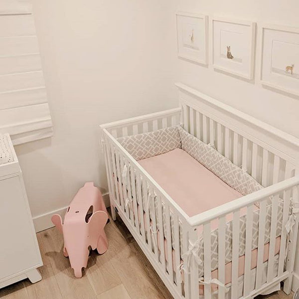 nursery crib idea fitted sheet