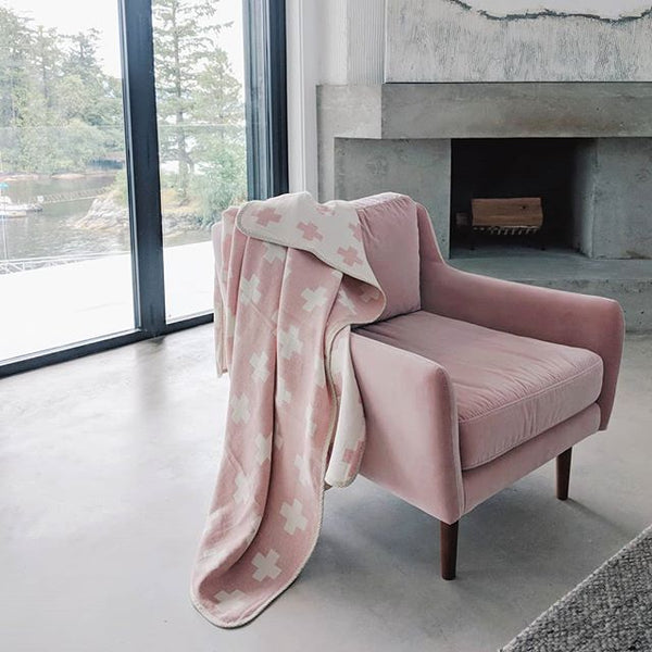 Cross Jacquard Blanket