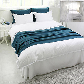 Tendy Pleats Bedding - Handmade Boutique Bedding Set