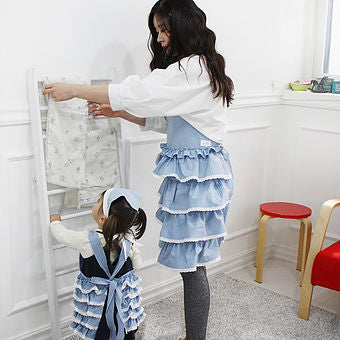 Cancan Handmade Apron - Mommy and Me