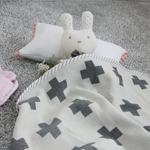 Cross Baby Blanket