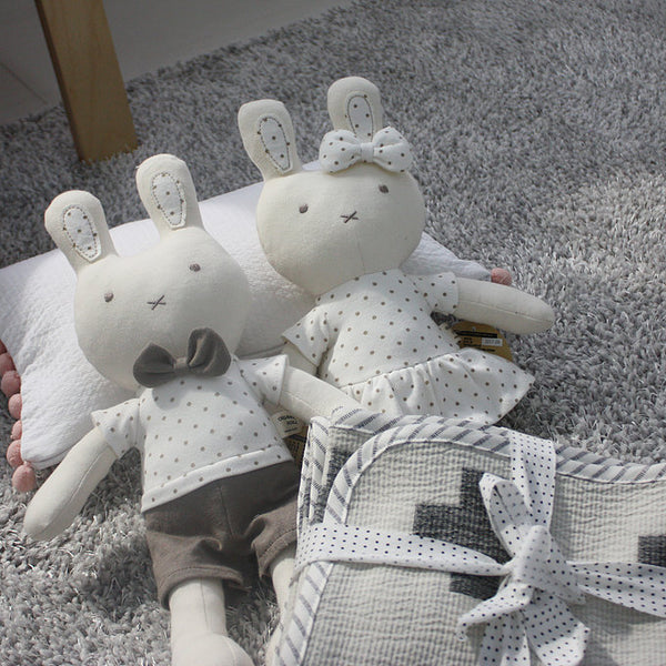 Bunny & Banny - Organic Cotton Toy