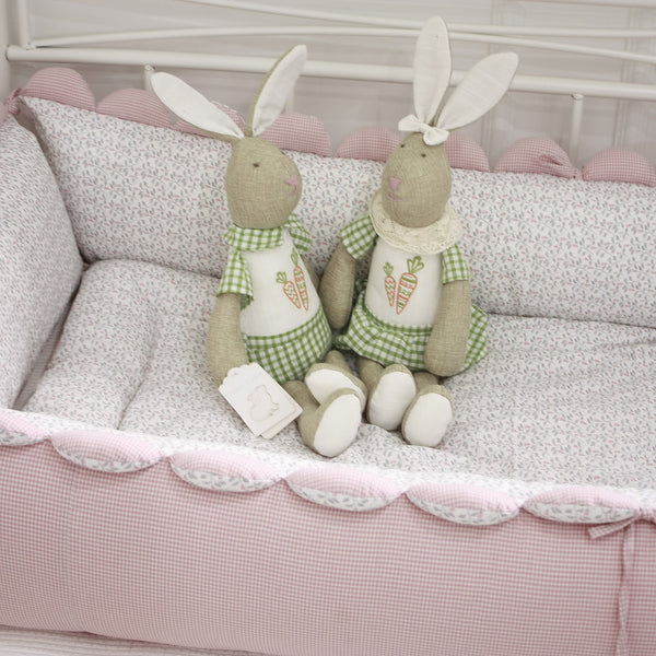 Handmade Crib Bumper - Newborn upto Toddler