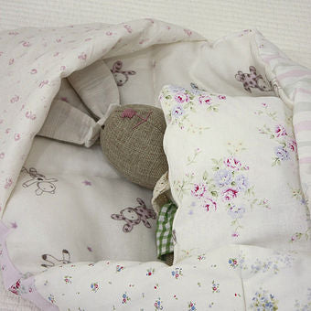 Patchwork Quilt Swaddle Blanket
