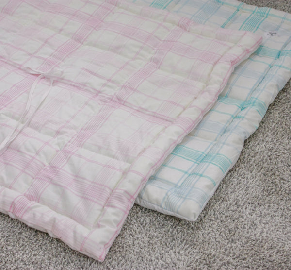 Linen Quilt Baby Blanket - Mini Bed