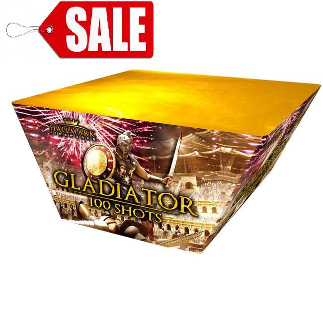 Gladiator 100 Shots by Hallmark Fireworks - SALE!