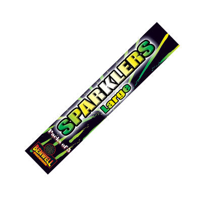 Large Sparklers By Benwell Fireworks