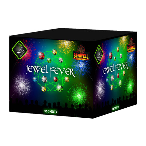Jewel Fever 36 shot Moulded Cake - BUY 1 GET 1 FREE!