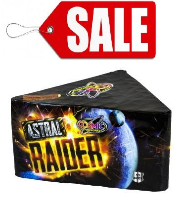 Astral Raider 55 Shot By Cosmic Fireworks - SALE!