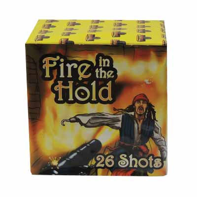 Fire in the hold 26 Shot By Benwell Fireworks - BUY 1 GET 1 FREE!