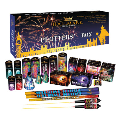 Plotters Box By Hallmark Fireworks